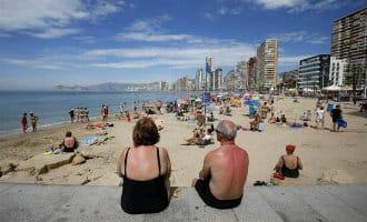 Herfst warm begonnen in Spanje met maxima van 40gr