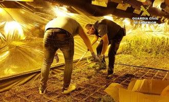 Nederlanders aangehouden voor mega marihuana productie aan de Costa Blanca