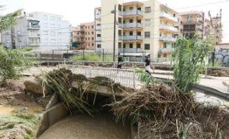 Salou wil vanwege de problemen na de hevige regenval een rampgebied worden