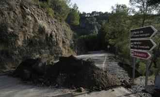 Caminito del Rey vanwege schade na regenbuien voor een week gesloten