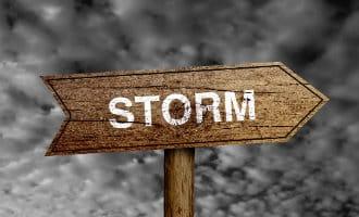 Orkaan Leslie op weg naar vasteland Spanje