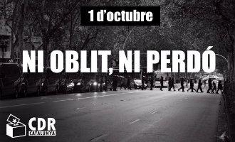 Acties in Catalonië om 1-O te herdenken