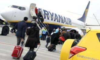Basis Ryanair vliegveld Eindhoven Airport sluit zonder gevolgen vluchten Spanje