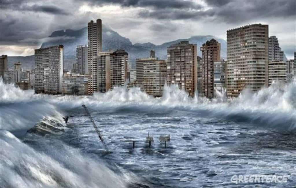 Kansen op tsunami's in Spanje