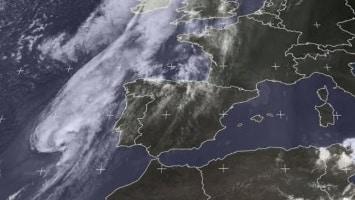 Tropische storm bereikt Spanje