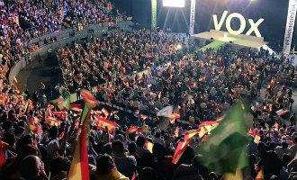 Opkomst van extreemrechtse politieke partij VOX in Spanje