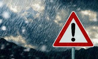 Spaanse overheid en weerdienst waarschuwen voor hevige regenval Spaanse kust