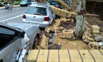 Gemeenten aan de Costa del Sol ook flink getroffen door hevige regenval