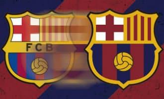 Nieuw clublogo FC Barcelona gaat niet door