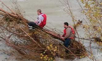 Mannen moeten redding uit rivier Teruel betalen