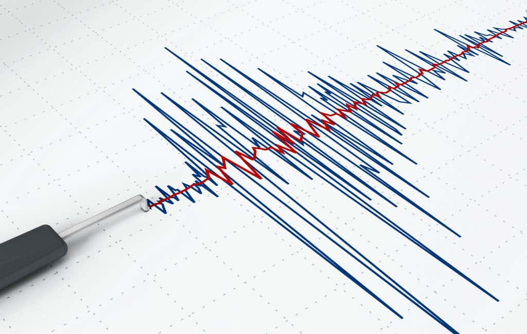 Lichte aardbevingen nabij Murcia en Granada