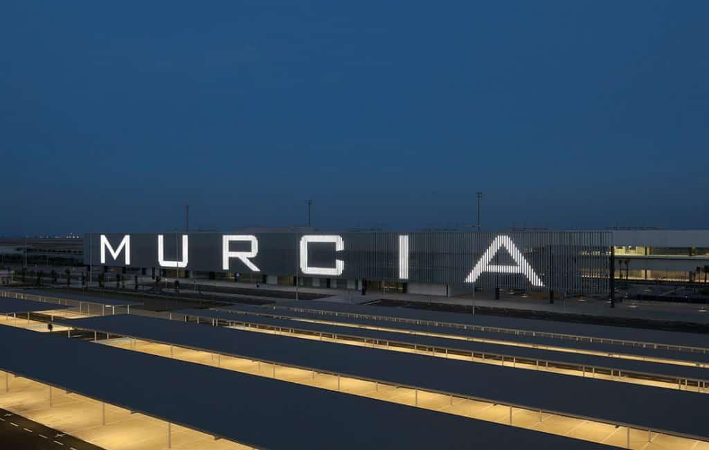 Nieuwe vliegveld van Murcia krijgt verbinding met België, Ierland en Groot Brittannië