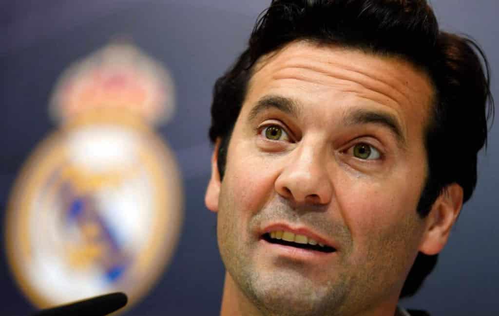 """Solari na """"proef"""" de nieuwe hoofdtrainer van Real Madrid"""