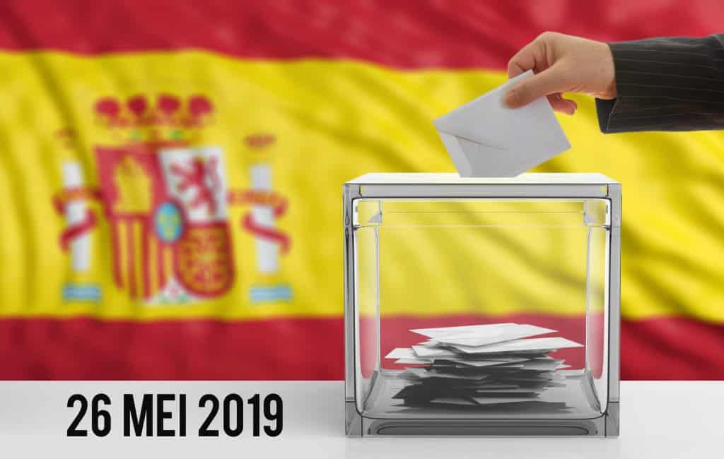 Als buitenlander stemmen bij de gemeente verkiezingen in 2019 in Spanje
