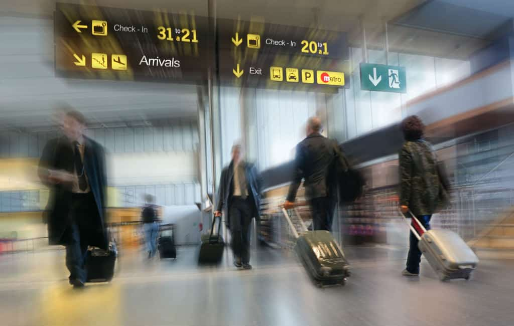 Aantal passagiers op Spaanse vliegvelden gestegen tot nu toe dit jaar