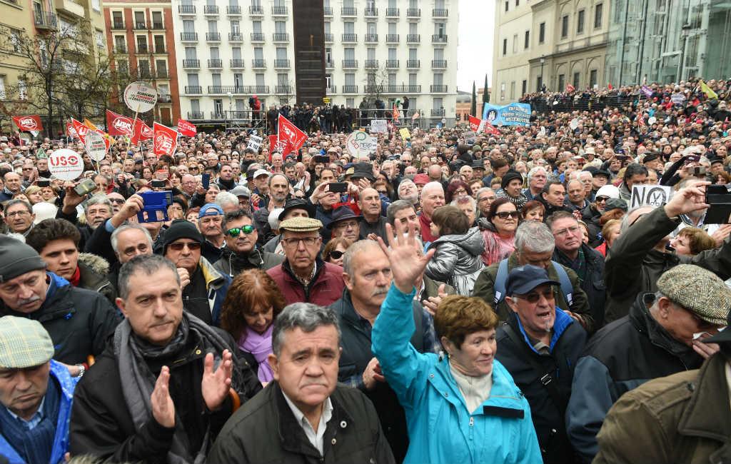 Demonstraties in heel Spanje vanwege de hypotheek belasting
