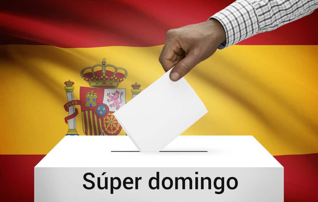 """Komt er wat betreft verkiezingen in Spanje een """"súper domingo"""" op 26 mei 2019"""