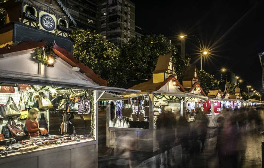 Kerstmarkten in Spanje