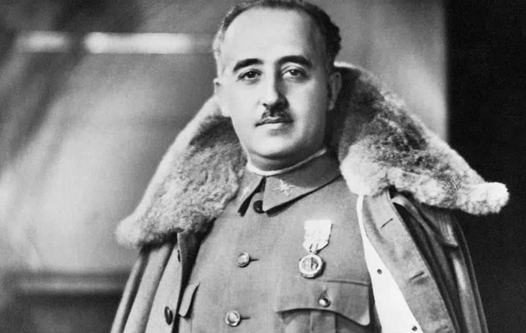 Franco is 44 jaar na zijn dood nog steeds springlevend in Spanje