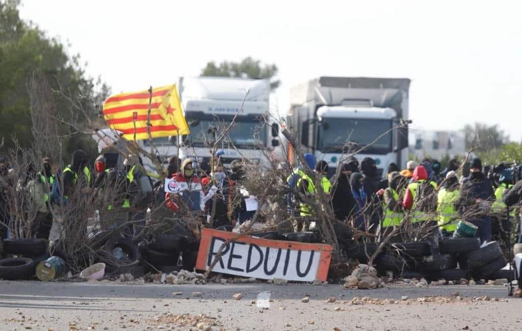21-D: Verkeerschaos verwacht op Catalaanse wegen