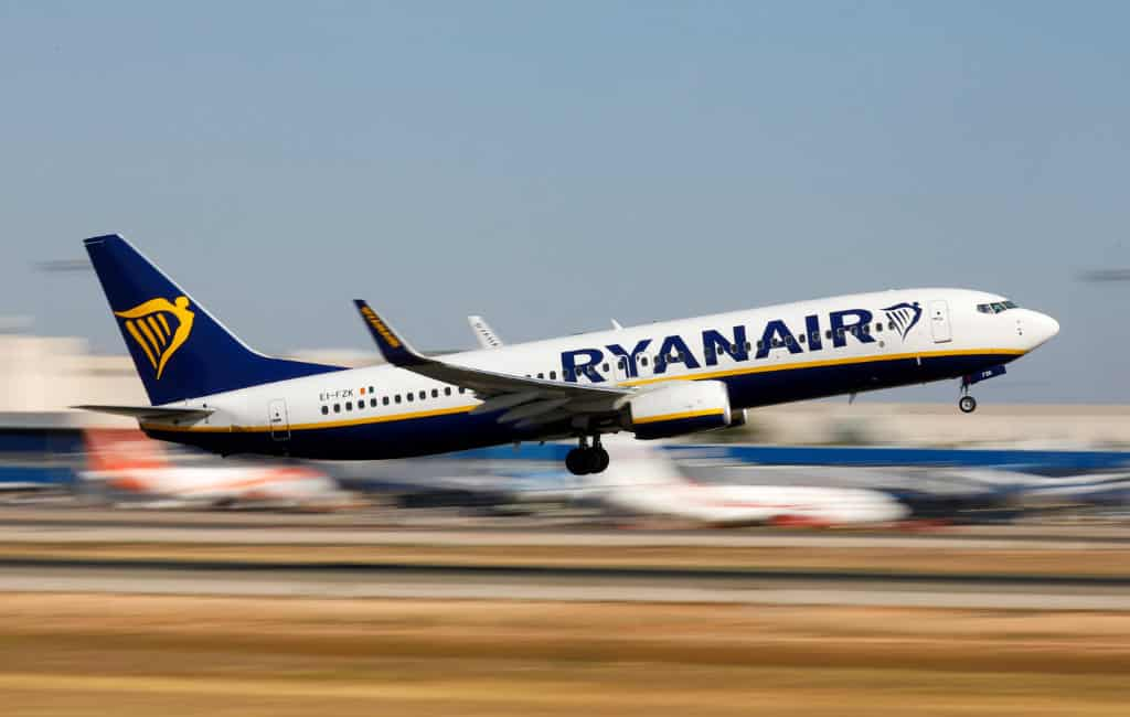 Ryanair cabinepersoneel Spanje gaat op 8, 10 en 13 januari staken