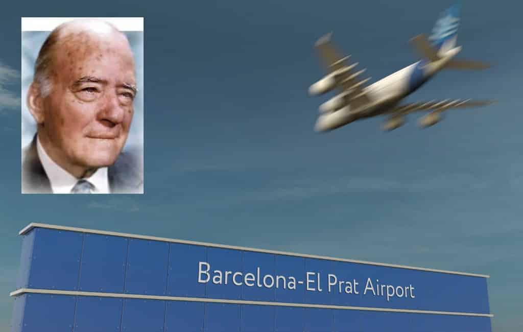 Vliegveld Barcelona-El Prat krijgt andere naam