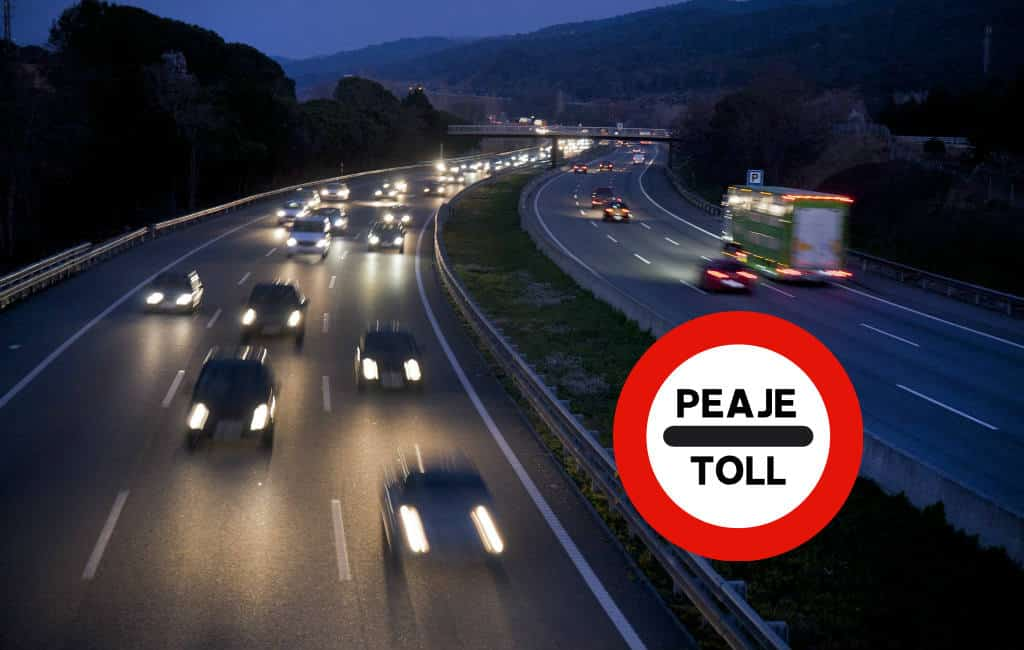 Tolwegen in Alicante, Murcia en Almería 's-nachts gratis te gebruiken