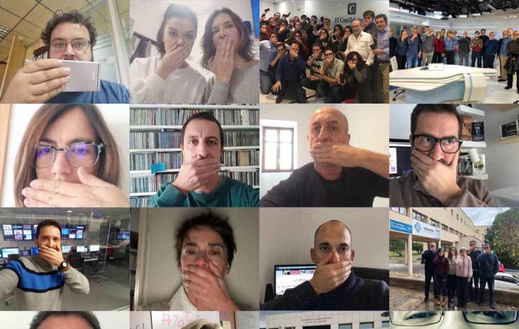 Journalisten Spanje klagen over acties tegen het beroepsgeheim