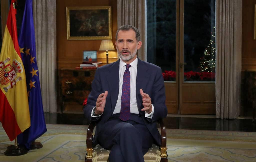 Kerstboodschap Koning VI van Spanje verwijst naar coëxistentie
