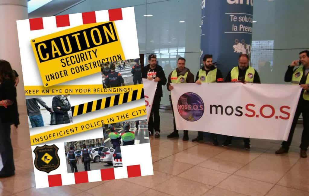 Catalaanse politie waarschuwt toeristen op vliegveld Barcelona om veiligheid