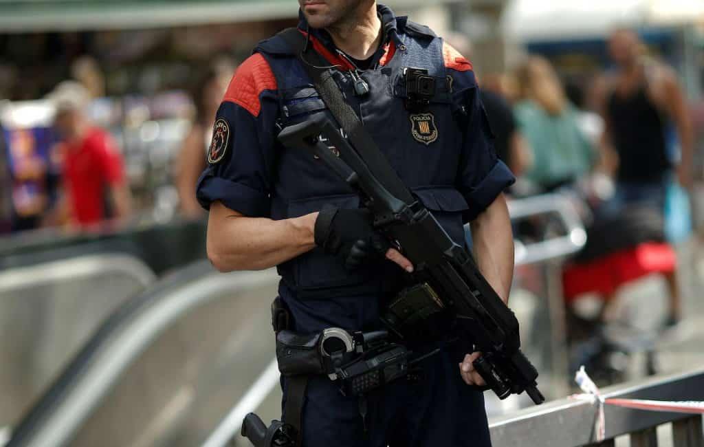 Extra zware veiligheidscontroles Barcelona vanwege terroristische dreiging