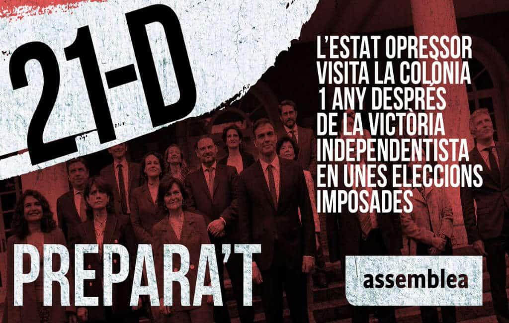Meerdere protesten verwacht in Catalonië de komende dagen