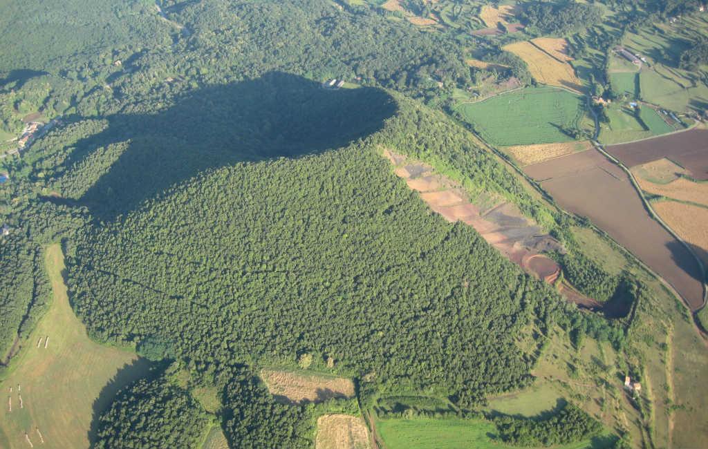Zes vulkanen in Spanje