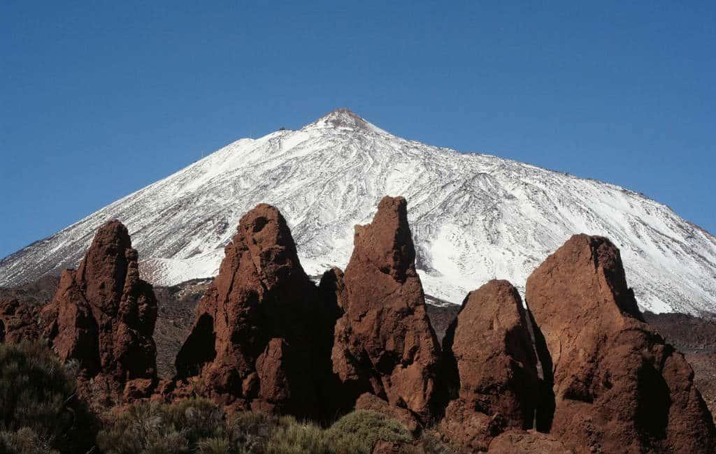 Zes vulkanen die in Spanje te vinden zijn