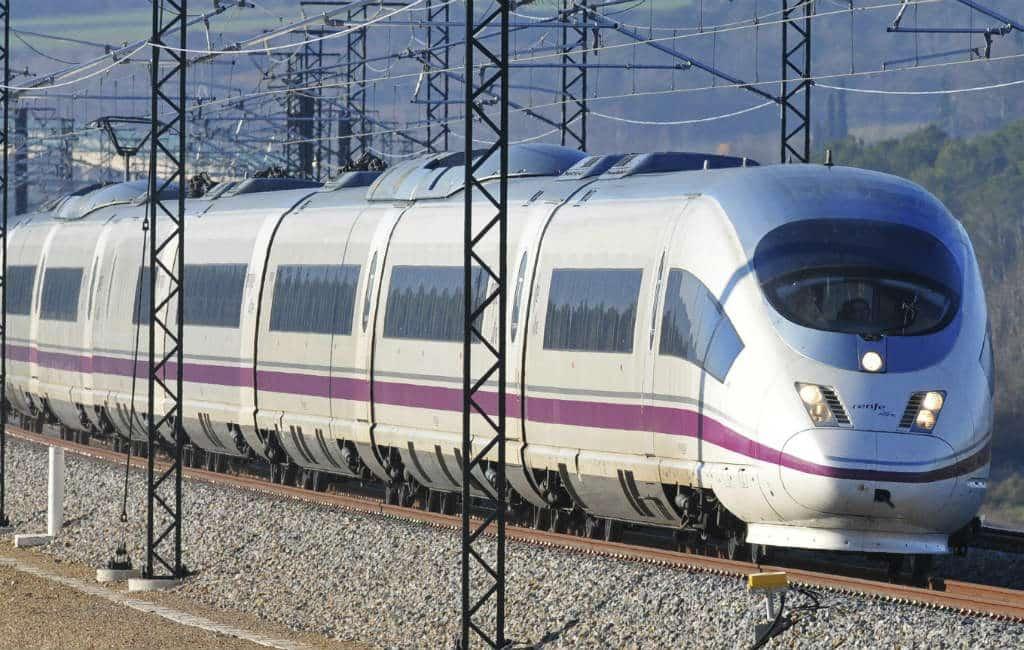 Staking Spaans spoorwegpersoneel tijdens Kerstperiode
