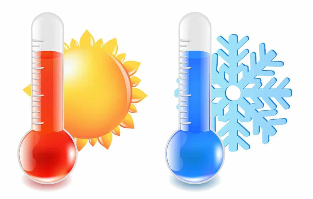 Van -10 tot +25 graden in Spanje begin 2019