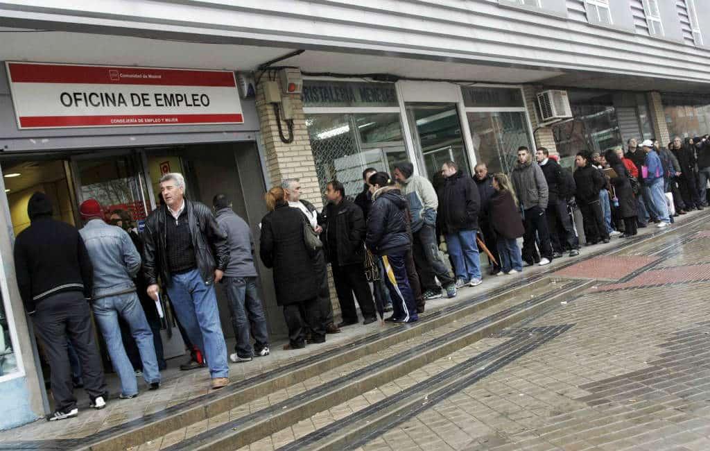 Aantal werklozen in Spanje gedaald in 2018