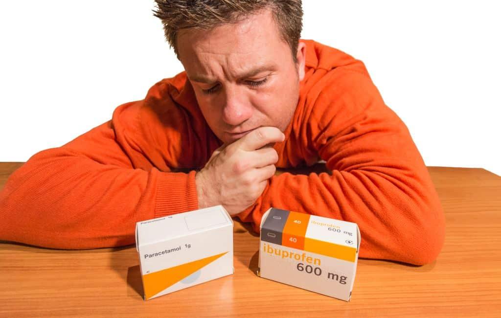 Wat is eigenlijk het verschil tussen Ibuprofen en paracetamol