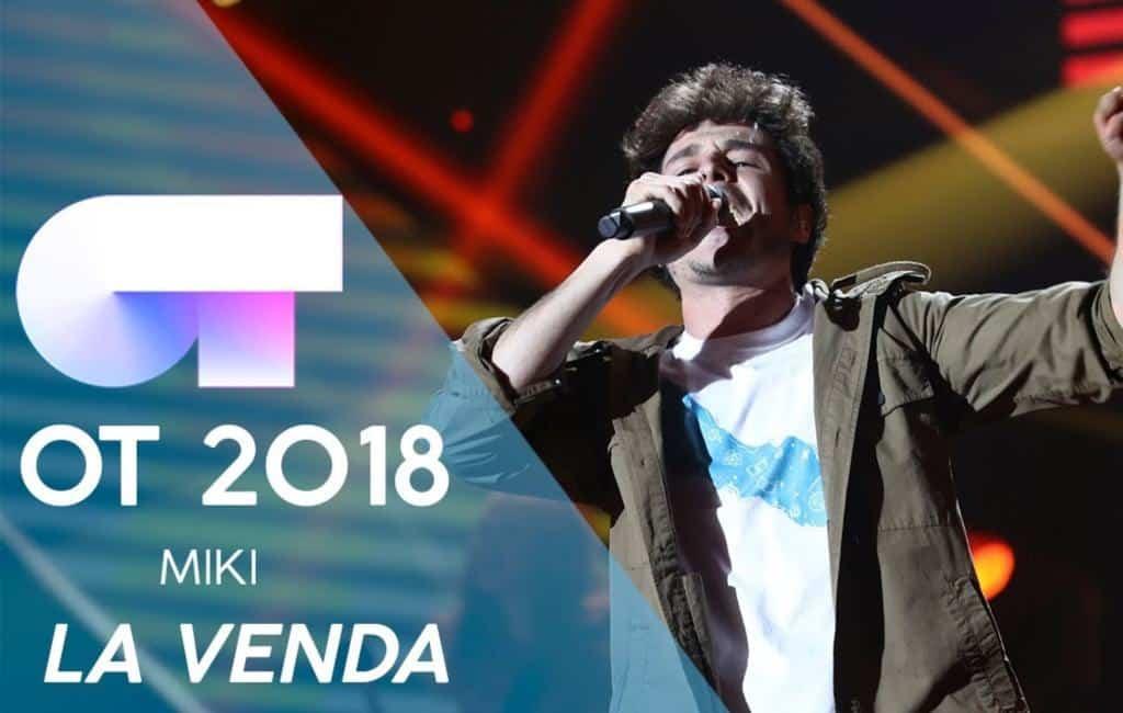 """Spanje stuurt Miki met """"La Venda"""" naar het Eurovisie Songfestival 2019"""