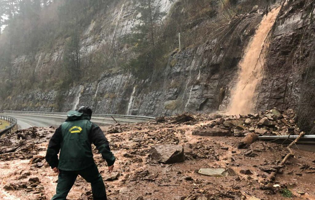 Vier doden door hevige regenval in noorden van Spanje
