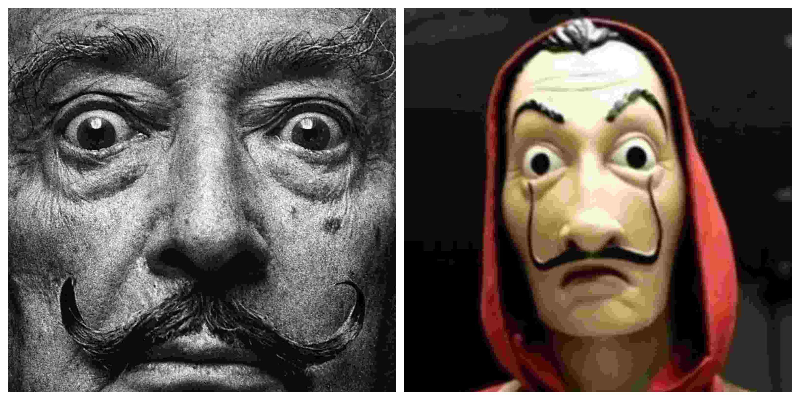 Dalí stichting niet blij met maskers in Netflix serie La Casa de Papel