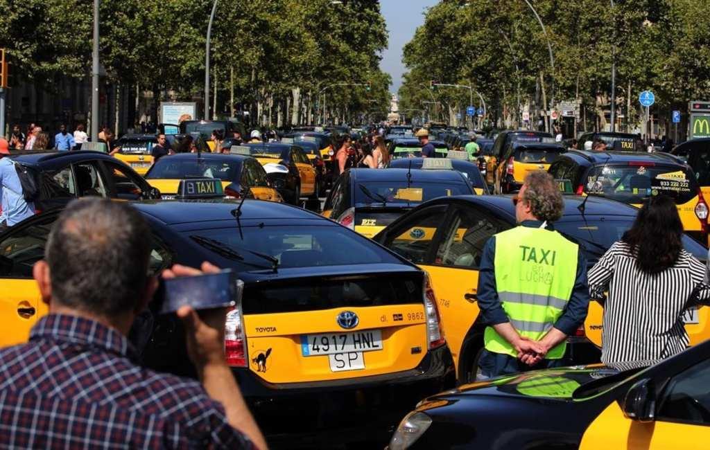 Taxichauffeurs Barcelona gaan ook staken