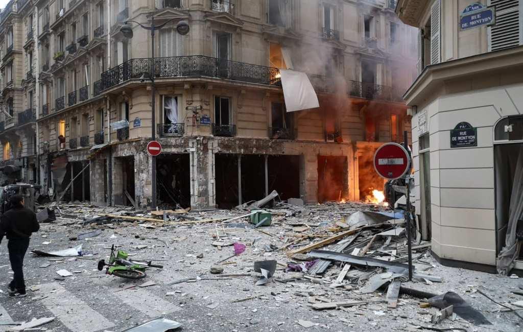 Spaanse vrouw omgekomen bij gasexplosie Parijs