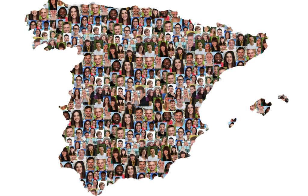 2019 begonnen met 46,7 miljoen inwoners in Spanje