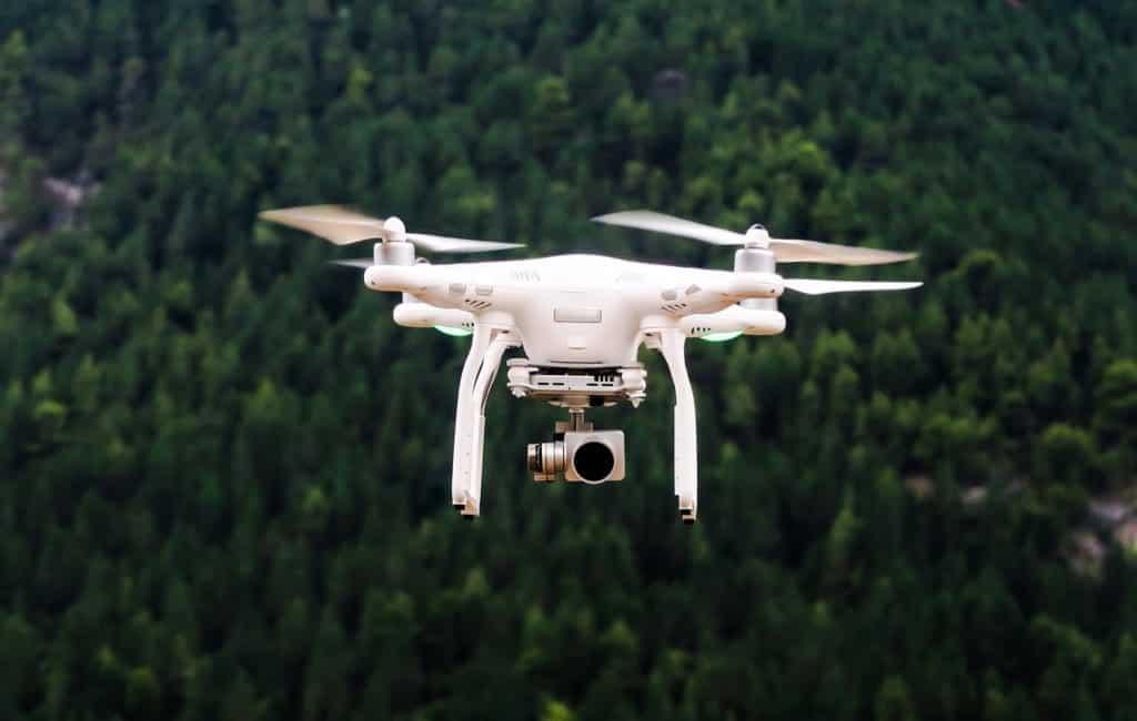 Belastingdienst Spanje opnieuw met drones op zoek naar illegale bouw