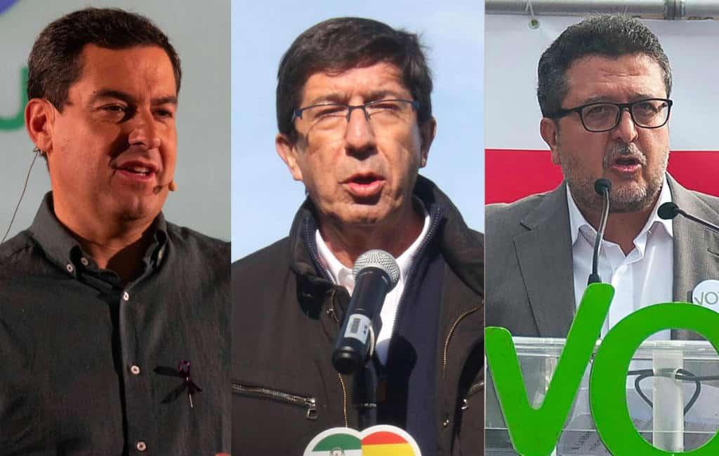 Centrum- en extreemrechts gaan hand in hand om Andalusië te veranderen