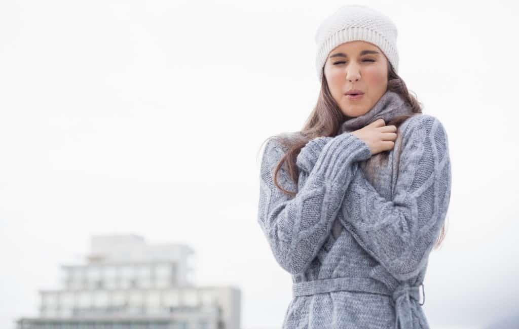 Het is koud aan de Costa Blanca met -7,5 graden