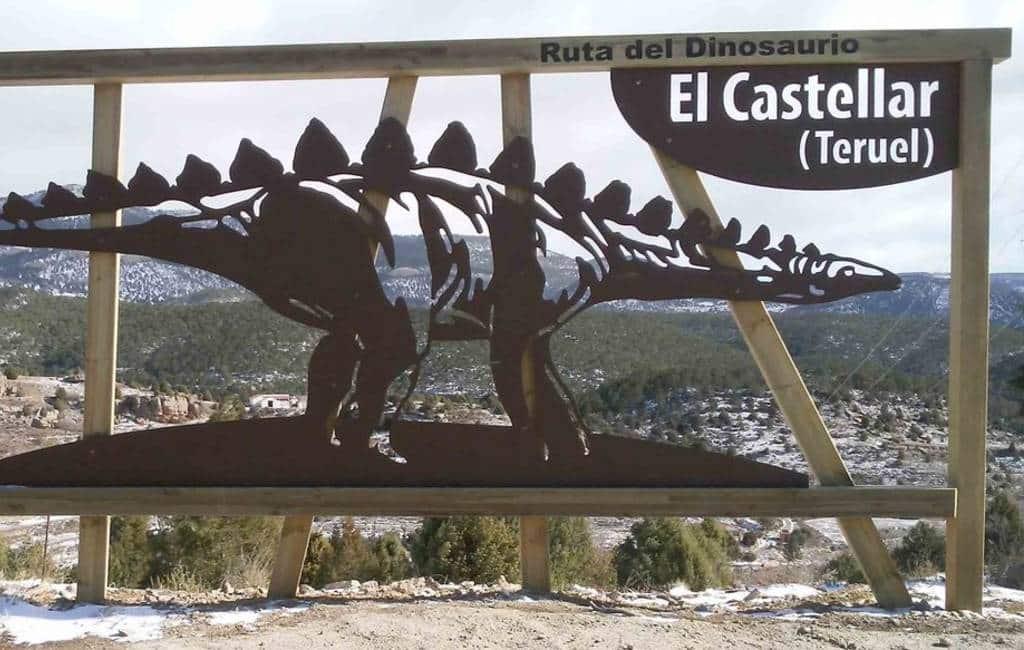 Nieuwe dinosaurus route in Teruel