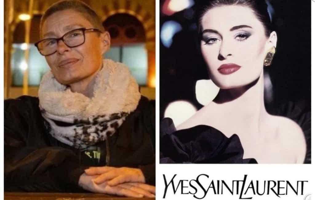 In Barcelona op straat wonend 57-jarig supermodel weer aan het werk
