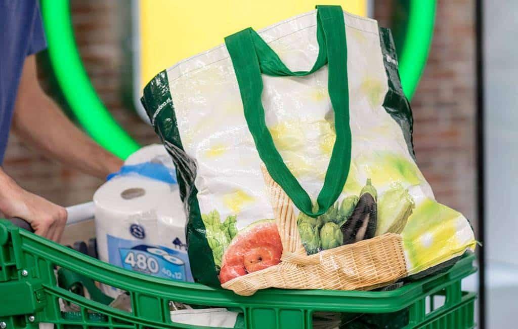 Voor mei geen normale plastic tassen meer bij alle Mercadona's